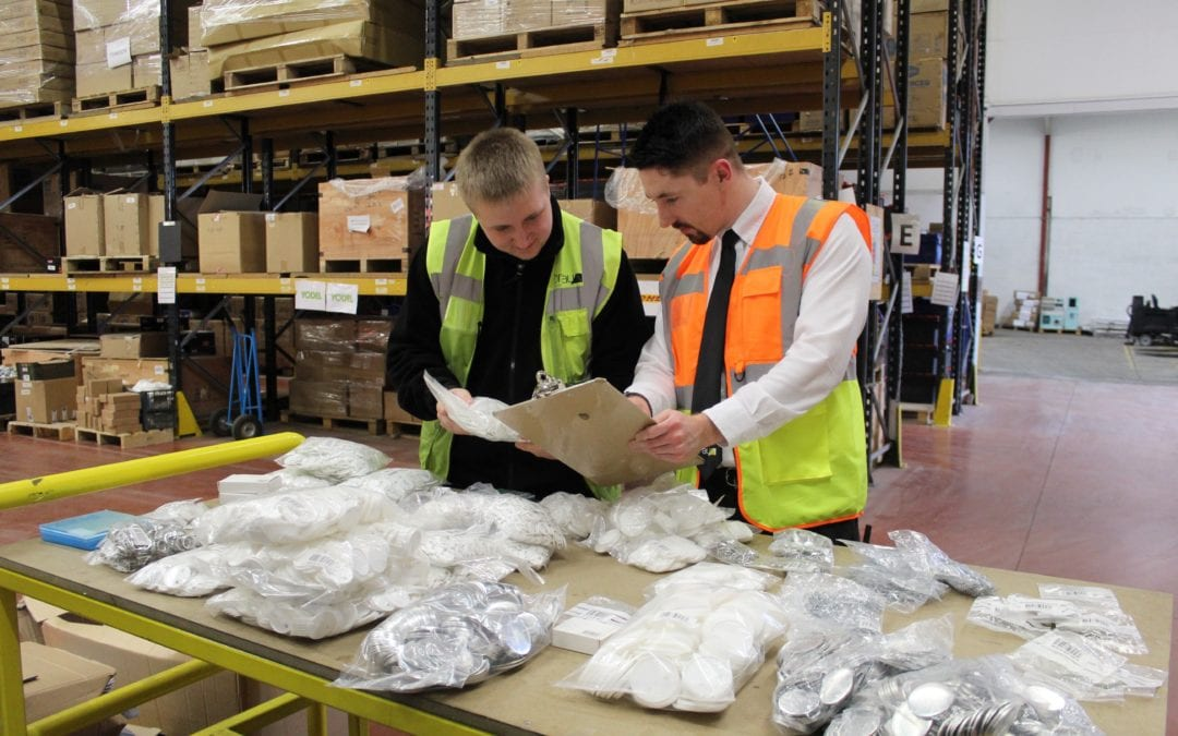 Focus of the Month – Goods In & Stock Control Department