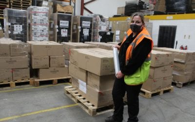 A day in the life of a Goods In & Stock Control Team Leader